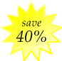Save 40% Today on your baby scrapbooks